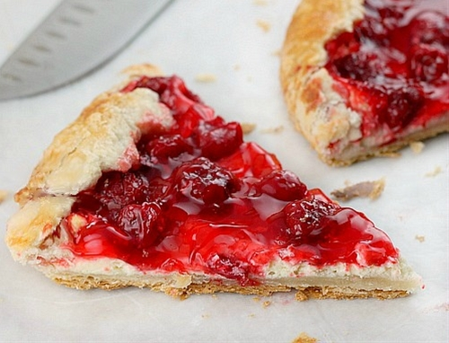 Cherry Cream Cheese Crostata