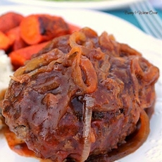 Incredible Salisbury Steak...This is comfort food!
