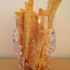 Gluten Free Parmesan Straws