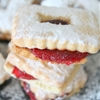 Strawberry Linzer Cookies Easy