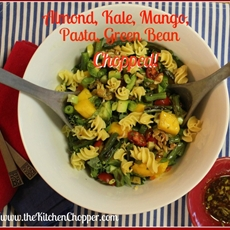 Almond, Kale, Mango, Pasta, Green Bean Chopped