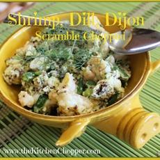 Shrimp, Dill, Dijon Scramble Chopped