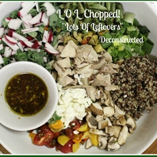 """L O L Chopped. """"Lots Of Leftovers"""", Deconstructed"""