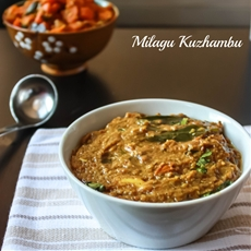 Milagu Kuzhambu / Pepper Curry – Relish The Bite