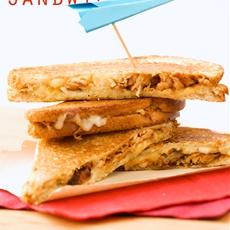 Chicken Grilled Cheese Sandwiches