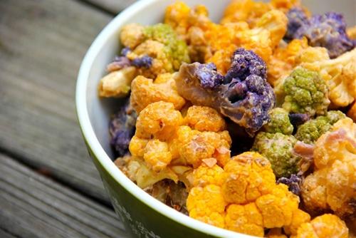 Curry Spiced Creamy Cauliflower