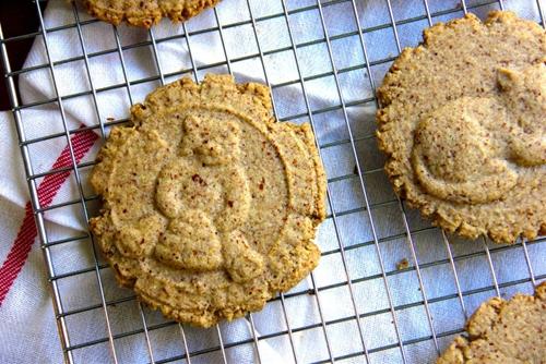 Cinnamon Spiced Almond Meal Cookies