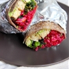 Curried Coconut Tempeh Wraps with Zingy Cranberry Relish — A Little Ro