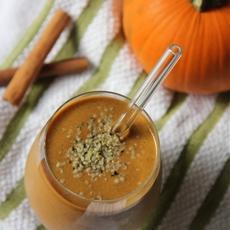Pumpkin Pie Chocolate Protein Smoothie