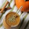 Pumpkin Pie Chocolate Protein Smoothie