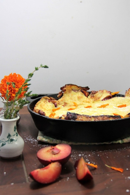 Plum Dutch Baby