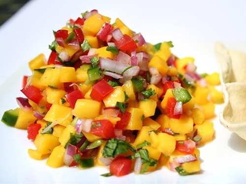Mango Salsa Dip