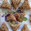 Crispy Little Envelops with Almonds
