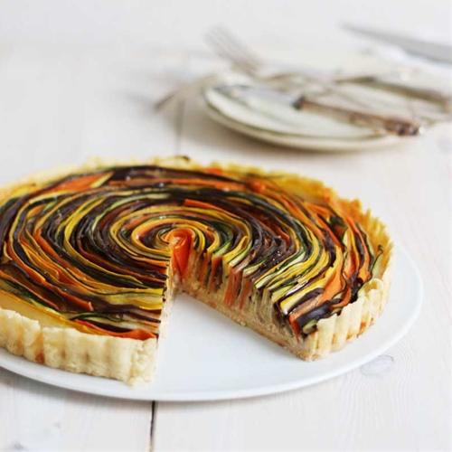 Vegetable Spiral Tart