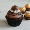 Death by Chocolate Cupcakes with Nutella & Ferrero Rocher