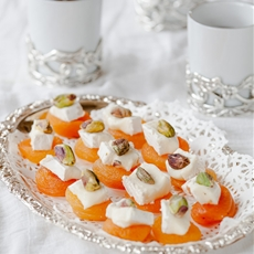 Apricot and Cheese Appetizer