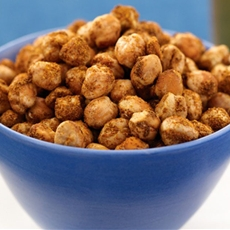 Crunchy Baked Chickpea Snack