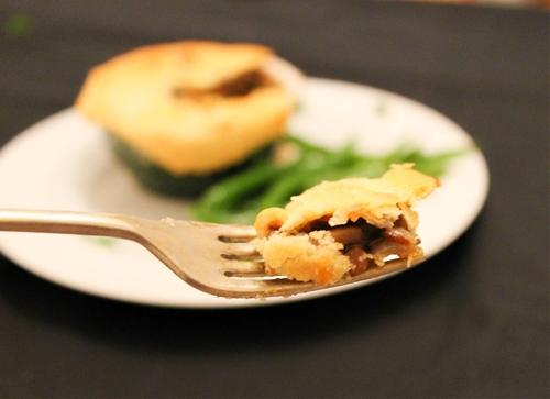 Lentil and Mushroom Pie