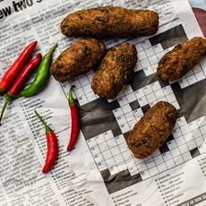 Paneer Vegetable Khati Roll