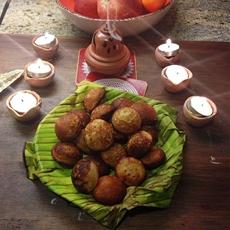 South Indian Banana Appam/ Hopper: Healthy, Less Fat