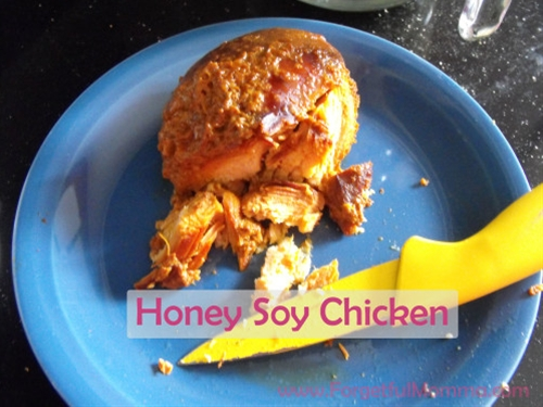 Honey Soy Chicken for the Crock Pot