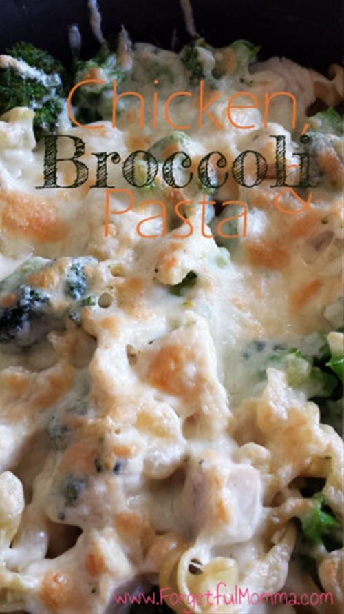 Tasty Chicken, Broccoli and Pasta Skillet