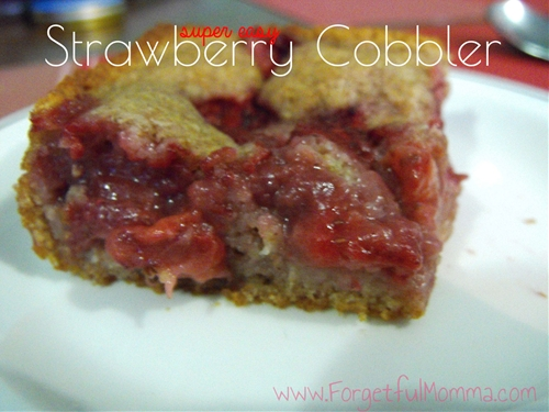 Tasty Strawberry Cobbler