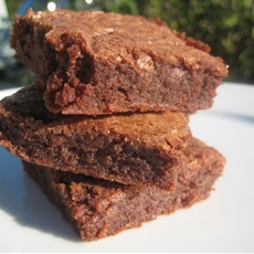 Chewy Milk Chocolate Brownies