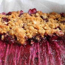 Easy Blackberry Crumble