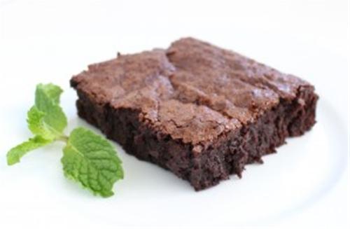 Mint Infused Deep Dish Brownies