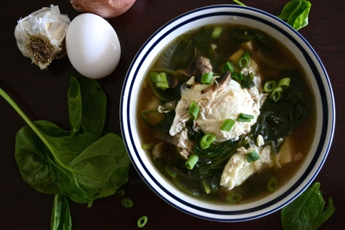 Simple asian soup