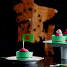 Natural Green Velvet Cupcake
