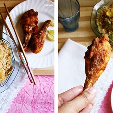 Tandoori Fried Chicken