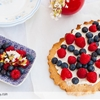 Shortbread with berries