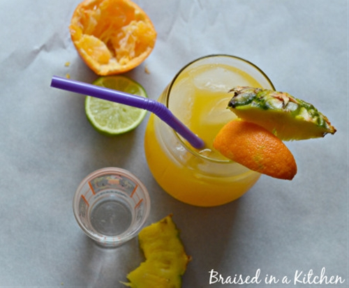 Hydrating Tropical Cocktail