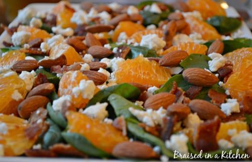 Honey Tangerine Salad
