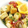 Pan-Fried Orange Tofu