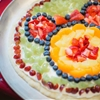 Minnie (or Mickey) Fruit Pizza