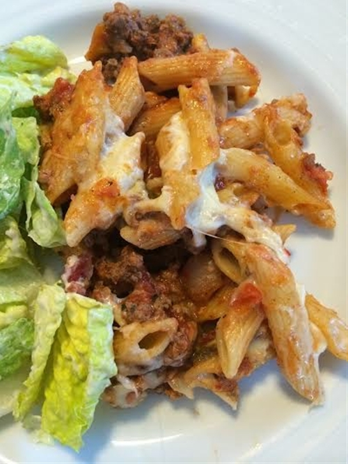 Delicious and Easy Homemade Baked Ziti