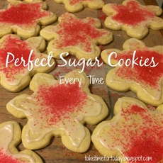 Perfect Sugar Cookies Every Time