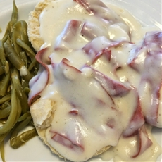 Chipped Beef & Gravy