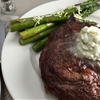 Grilled Steak with Gorgonzola Butter