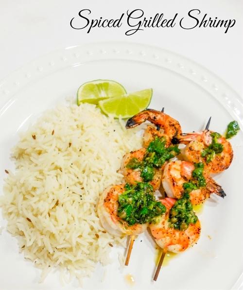 Spiced Grilled Shrimp