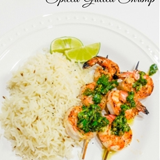 Spiced Grilled Shrimp