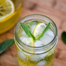 Meyer Lemon Agave Lemonade