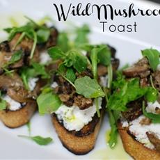 Wildmushroom Dinner Toast