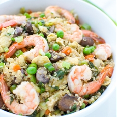 Shrimp Fried Quinoa