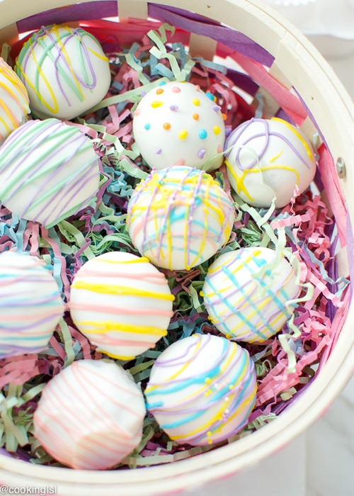 Easy Easter Oreo Truffles