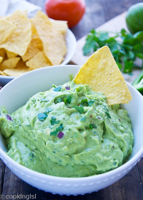 Fresh And Easy Blender Guacamole