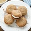 Tiramisu Cookies With Mascarpone Cream Filling